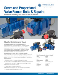 Click to view our Servo Proportional Valve Cut Sheet