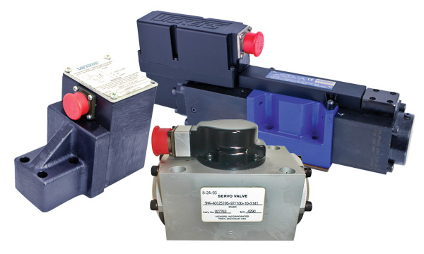 Reman, Aftermarket & Repairs on Vickers Servo & Proportional Valves